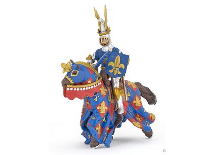 Franska Liljans Häst blå