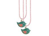 Necklace 'Bird' 2pcs