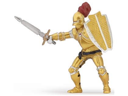 Knight in Golden Armor