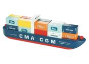 Fartyg 'Container' magnetisk