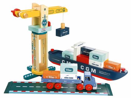 Lastbil 'Container' magnetisk