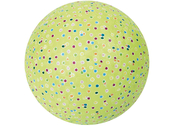 Ball rubber 'Confetti' large
