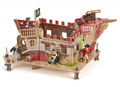 Pirate fort model kit