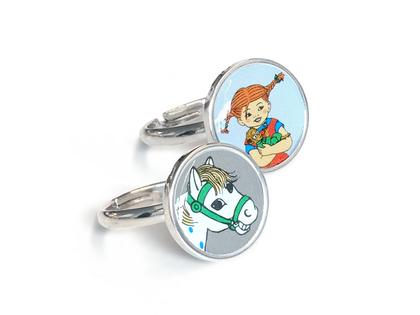 Rings 'Pippi & Horse'