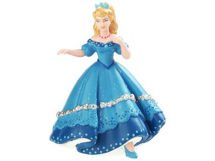 Prinsessa Dansande blå