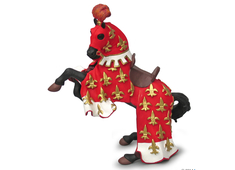Prince Philip's Horse red