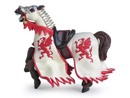 Drakkungens Häst röd