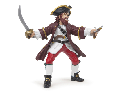 Pirat Barbarossa röd