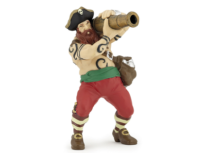 Pirate with Canon