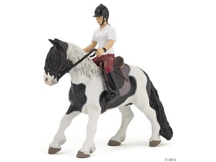 Häst till ryttare ponny