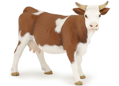 Cow Simmental brown/wh