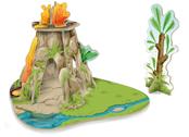 Dino environment for mini papo