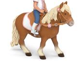 Horse for rider shetland
