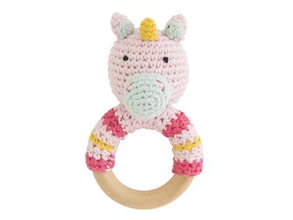 Rattle 'Critters with ring' assorted