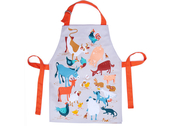 Apron 'Fred's farm' matte laminated