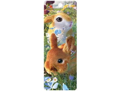 Bokmärke 3D Kaniner