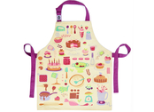 Apron 'Let's bake' cotton canvas