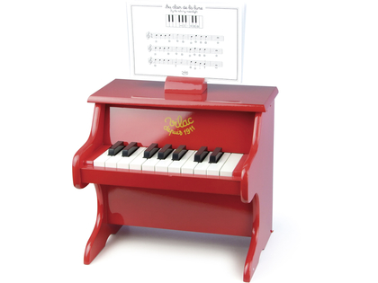 Piano red