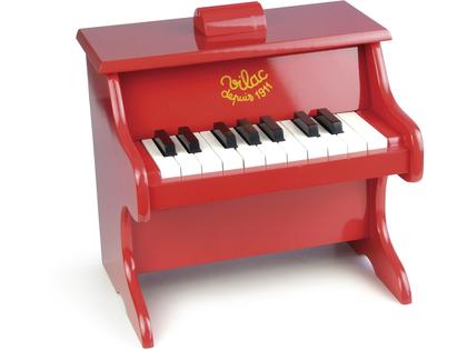Piano rött