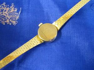Armbandsur i 18 karat guld.Longines. Mekaniskt verk. 1960tal.