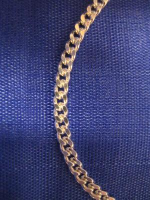 Silver halsband.Modell Pansar 42cm