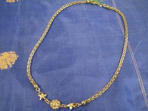 Halsband i äkta sterling silver med sol och stjärnor.