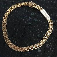 Armband i 18 karat guld.Design: X Länk.Tillverkad 1967