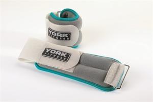 YORK ankel/wrist vikter 2x2kg