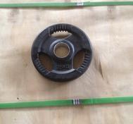 Body Power Int. 50mm 1,25kg-20kg gummi med 3 handtag