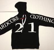 Bredaxlad 21 Hoodtröja utan dragkedja