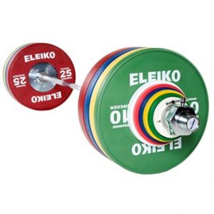 Eleiko Olympic WL Training Set - 190 kg, men, RC, coloured