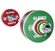 Eleiko Olympic WL Training Set - 190 kg, men, RC, coloured