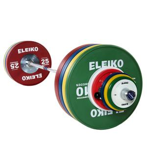 Eleiko Olympic WL Competition Set - 190 kg, men, FG