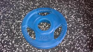 Body Power Int. 50mm 1,25kg gummi med 3 handtag