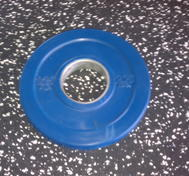 Body Power Int. 50mm PRO 1,25kg gummi