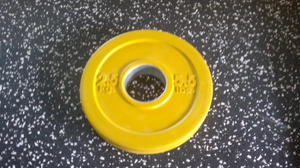 Body Power Int. 50mm PRO 2,5kg gummi