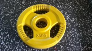 Int. 50mm 2,5kg gummi med 3 handtag