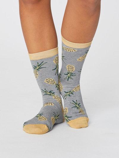 Bamboo Pineapple Socks