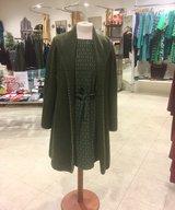 WoolCardigan/Coat Mossgreen Eva-Lena