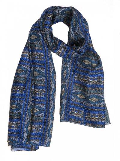 Silkessjal Mosaico Blue