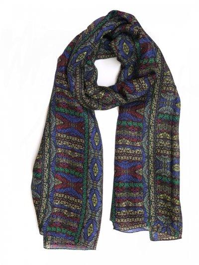 Silkessjal Mosaico Garnet