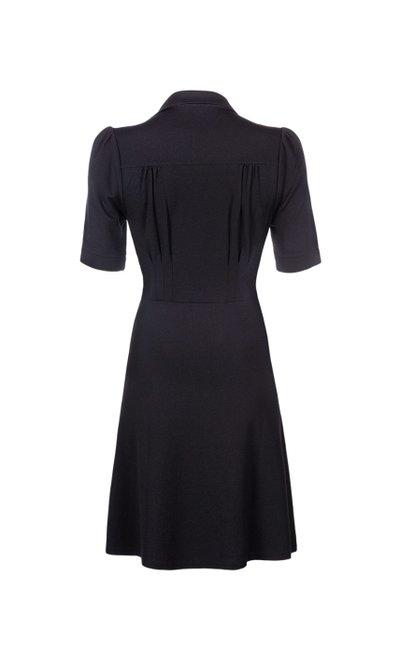 Diner Dress Milano Crepe Black