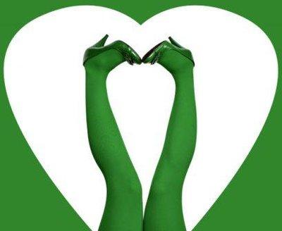 Strumpbyxor Grassy Green