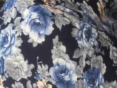 Rosor Blå