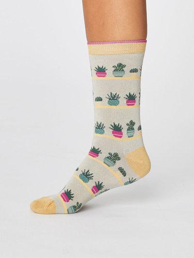 Cacti Tropical Bambu Socks 2 Pack
