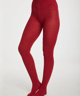 Elgin Tights Bamboo Redcurrant Red