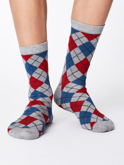 MCKinnon Bamboo Socks Mid Grey Marle