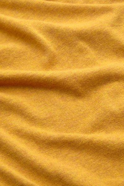 Cardi Roundneck Cocoon Honey Yellow