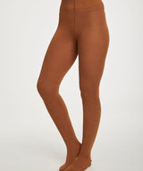 Elgin Tights Bamboo Toffee Brown