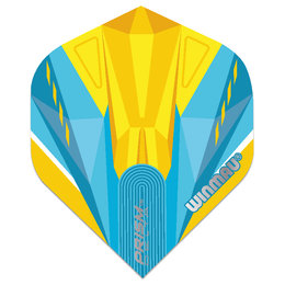 Winmau Prism Delta Blue & Yellow NO2
